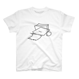 ブルドーザー[淡色] T-shirts