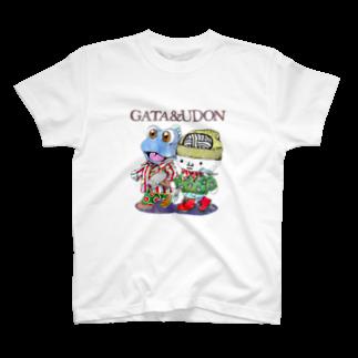 有明ガタァ商会のGATA&UDON T-shirts