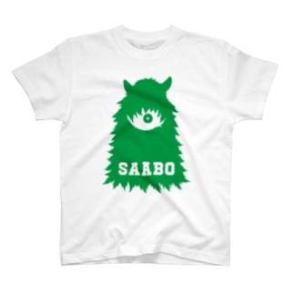 SAABO_FUR_ForestMan_L_G T-shirts