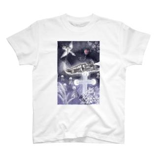 銀河鉄道心象スケッチ T-shirts