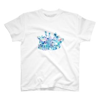 イラストレーター おおでゆかこのクリスタルのいえ T-shirts