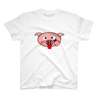 ぶたべー T-shirts