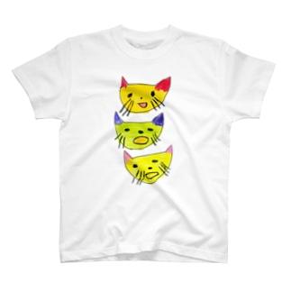 TUITATI / ツイタチのスズリのmelancholy cats T-shirts
