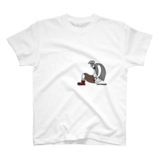 stomach.T2 T-shirts