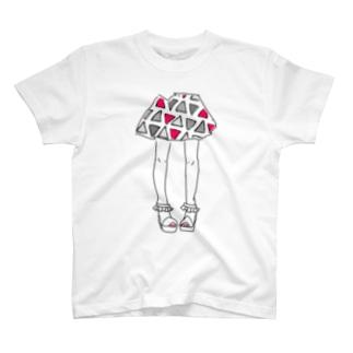 スカート❸ T-shirts