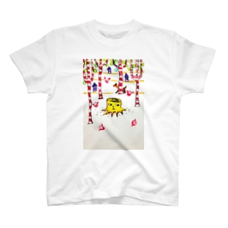 切り株 T-shirts