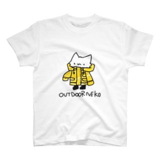 あうとどあねこ T-shirts