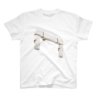 白いダクト Tシャツ