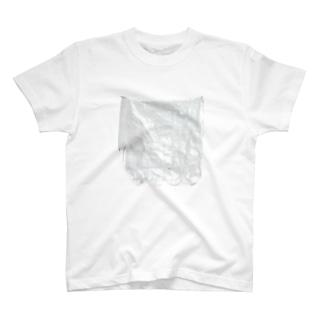白いシート Tシャツ