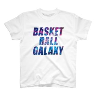 BASKETBALL GALAXY T-shirts