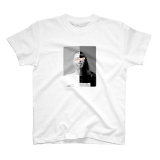 「金属バット half」Tシャツ T-Shirt