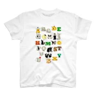 あるふぁべっと T-Shirt