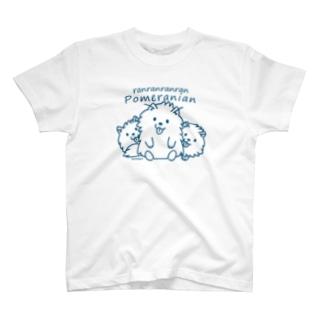 らんらんらんらんポメラニアンB*L T-Shirt