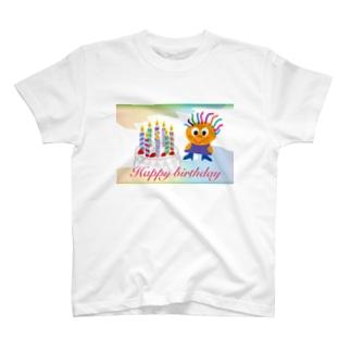 クレコちゃんのハッピーバースディ T-shirts