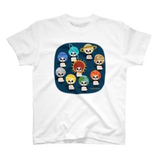カブリモノ太陽系パンダ T-Shirt