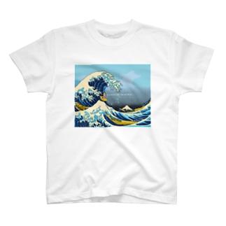波乗りサムライ T-shirts
