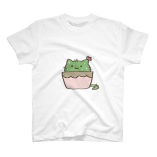 サボテンねこ T-Shirt