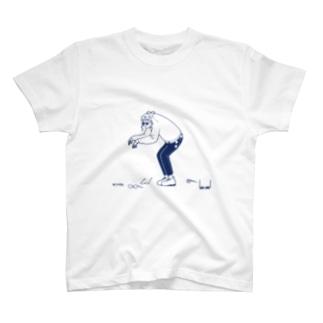 メガネ-メガネ T-shirts