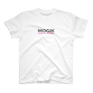 MOGIK GRAY☓PINK T-shirts