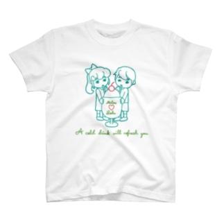 メロンソーダキッズ/レトロ T-Shirt