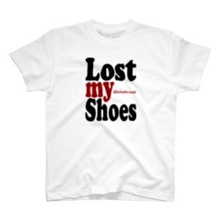 mahshroomのmahshroom 『Lost my shoes』 T-Shirt
