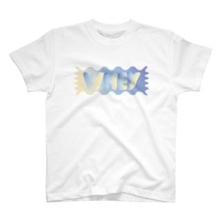 ホエイロゴ グラデ1 T-shirts