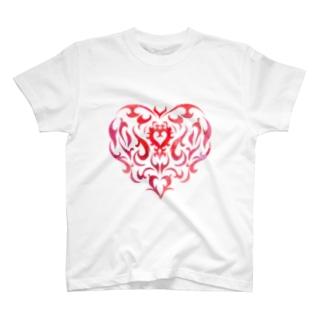 ハート Re T-Shirt