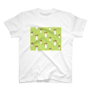 にくらしいエリンギ T-shirts