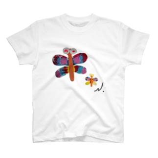 とんぼの親子 T-Shirt