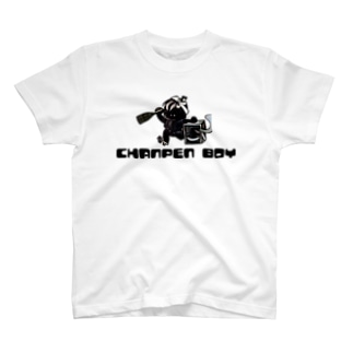 シャンパンボーイ T-shirts