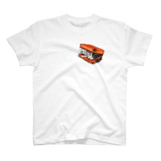濃縮還元100%オレンジジュース色 T-shirts