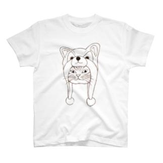 犬好きから猫好きにしたい人に贈るTシャツ T-shirts