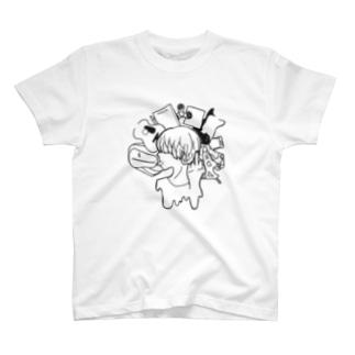 量産型大学生 T-shirts