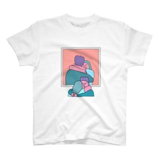 ハグの日 Tシャツ
