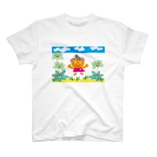 """クレコちゃんのピンクのビーチサンダル(^^)/"""" T-shirts"""