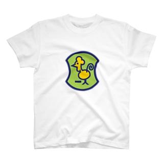 パ紋No.3080 一人 T-shirts
