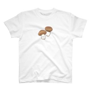 にくらしい本しめじ T-shirts