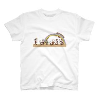 熊猫旅遊団 Tシャツ