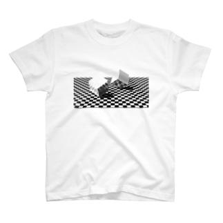 HacksBackの二つのダイス T-Shirt