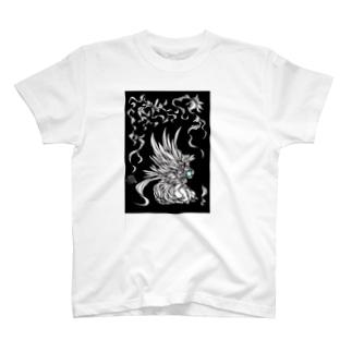 白炎の鳥 T-shirts
