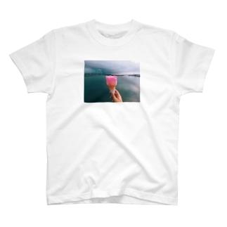 海のババヘラ T-shirts