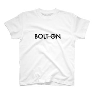 ひげもじやのボルトオン T-shirts