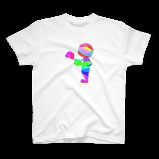 茶芽のあく君 T-shirts