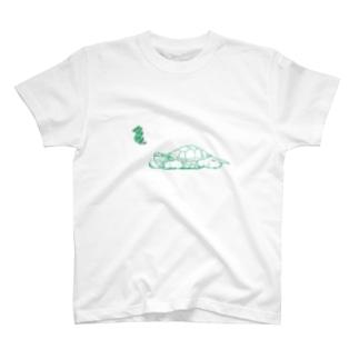 のんびりカメヤマ T-shirts