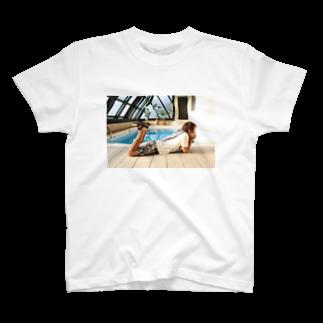 サトケンSUZURIの例のプール T-shirts