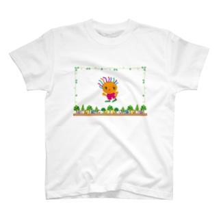 ジョギングでダイエットのクレコちゃん T-shirts