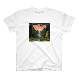 黄昏の桂林 T-shirts