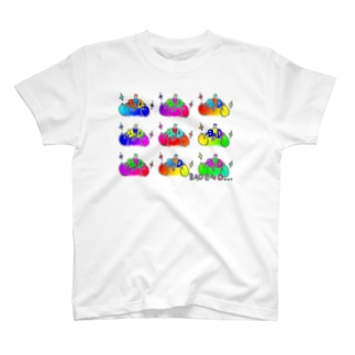 BADテントウいっぱいレインボー T-Shirt
