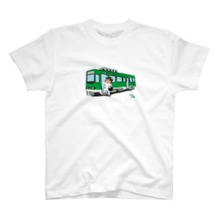 WASI わっしー国際芸術祭×のりもの T-shirts