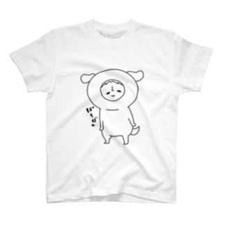 ぽちT(白) T-shirts